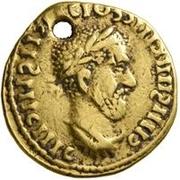 1 Aureus - Imitating Macrinus, 217-218, or Maximinus, 235-238 – obverse