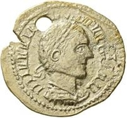 1 Aureus - Imitating an Uncertain Ruler – obverse