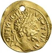 1 Aureus - Imitating Septimius Severus, 193-211 – obverse