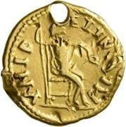 1 Aureus - Imitating an Uncertain Ruler – reverse
