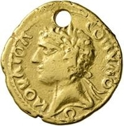 1 Aureus - Imitating Elagabalus, 218-222 – obverse