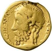 1 Aureus - Imitating Marcus Aurelius, 161-180 – obverse