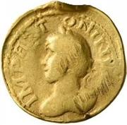 1 Quinarius - Imitating Marcus Aurelius, 161-180, & Lucius Verus, 161-169 – obverse