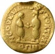 1 Quinarius - Imitating Marcus Aurelius, 161-180, & Lucius Verus, 161-169 – reverse