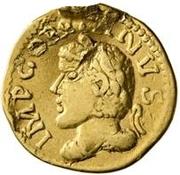 1 Quinarius - Imitating Gordian III, 238-244 – obverse