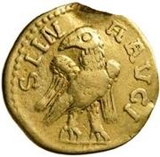 1 Quinarius - Imitating Gordian III, 238-244 – reverse