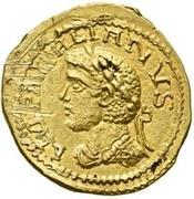 1 Quinarius - Imitating Aurelian, 270-275 – obverse