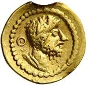 1 Quinarius - Imitating Lucius Verus, 161-169, or Septimius Severus, 193-211 – obverse