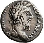 1 Denarius - Imitating Commodus, 177-192 – obverse
