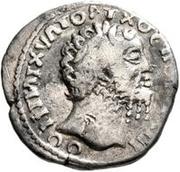 1 Denarius - Imitating Marcus Aurelius, 161-180, or Septimius Severus, 193-211 – obverse