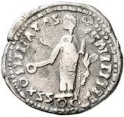 1 Denarius - Imitating Marcus Aurelius, 161-180, or Septimius Severus, 193-211 – reverse