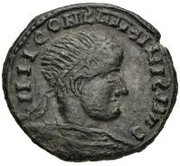 Bronze Æ - In the name of Constantine I, 306-337 -  obverse