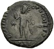 Bronze Æ - In the name of Constantine I, 306-337 -  reverse