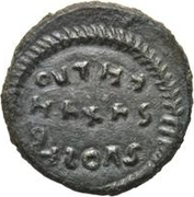 Bronze Æ - In the name of Constantine I, 306-337 (Sketched legend) – reverse