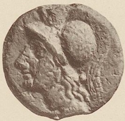 ½ As (Cantharus series) – obverse