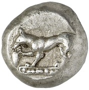 Drachm (Ionian or Lycian mint) – obverse