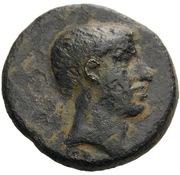 Bronze Æ21 – obverse