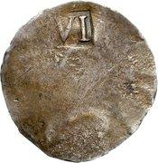 6 Pence (NE) – reverse