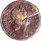 "1 Penny  ""Rosa Americana"" – obverse"