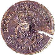 """1 Penny  """"Rosa Americana"""" – reverse"""
