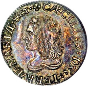 1 Shilling (Lord Baltimore) – obverse