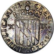 1 Shilling (Lord Baltimore) – reverse