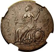 """Copper """"Muttonhead"""" – reverse"""
