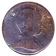 Copper (Baby Head Bust Right) – obverse