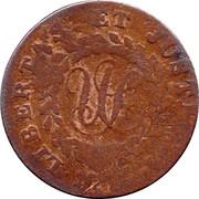 Nova Constellatio Copper (Pointed Rays, CONSTELLATIO) – reverse