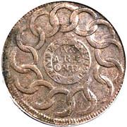 """1 Cent """"Fugio Cent"""" – reverse"""