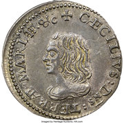 4 Pence - Groats  (Lord Baltimore) – obverse