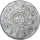 "1 Dollar ""The Continental Dollar"" – reverse"