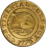 "1 Dollar ""The Continental Dollar"" -  obverse"