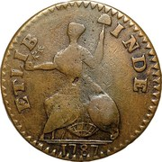 "Copper ""Small Head Facing Right, ETLIB INDE"" – reverse"