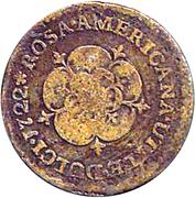 1/2 Penny - Rosa Americana. – reverse