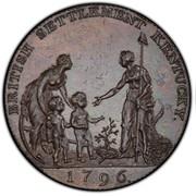 1/2 Penny - P.P.P. Myddelton – obverse