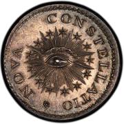 "Nova Constellatio Pattern ""Silver Mark  1000"" – reverse"
