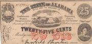 25 Cents (Alabama) – obverse