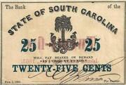 25 Cents (South Carolina) – obverse