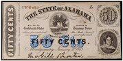 50 Cents (Alabama) – obverse