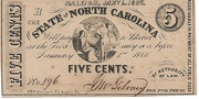 5 Cents - North Carolina – obverse
