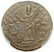 ½ Penny (Mark Newby) – reverse
