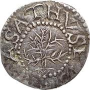 3 Pence (Oak Tree) – obverse