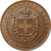 5 Centesimi - Vittorio Emanuele II -  obverse