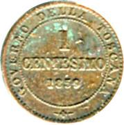 1 Centesimo - Vittorio Emanuele II – reverse