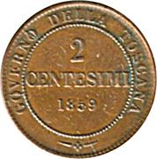 2 Centesimi - Vittorio Emanuele II – reverse