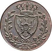 3 Centesimi - Vittorio Emanuele II – obverse