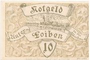 10 Heller (Unter-Loiben) -  obverse