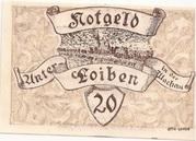 20 Heller (Unter-Loiben) – obverse