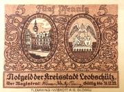5 Pfennig (Leobschütz) – obverse